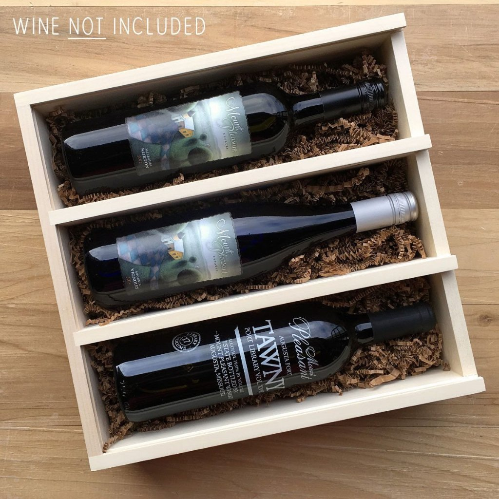 Eat Drink & Be Married - Anniversary Wine Box