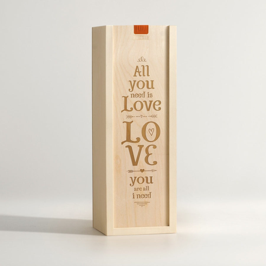 All You Need Is Love - Wine Box - Main Image