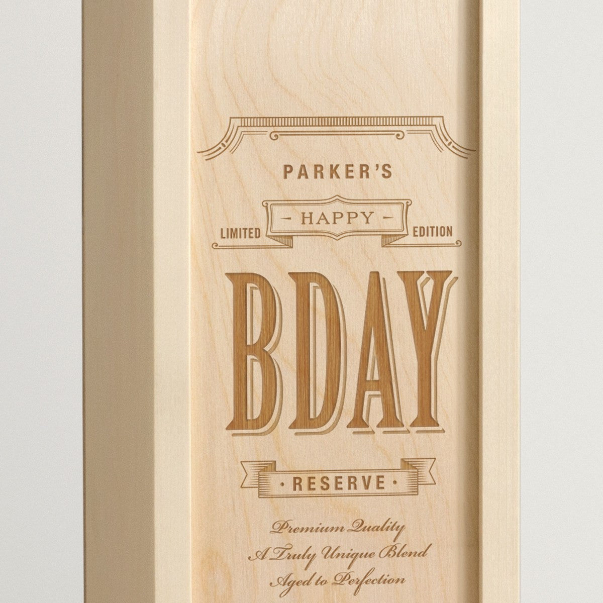 Bday Blend - Birthday Wine Box - Detail Image 1