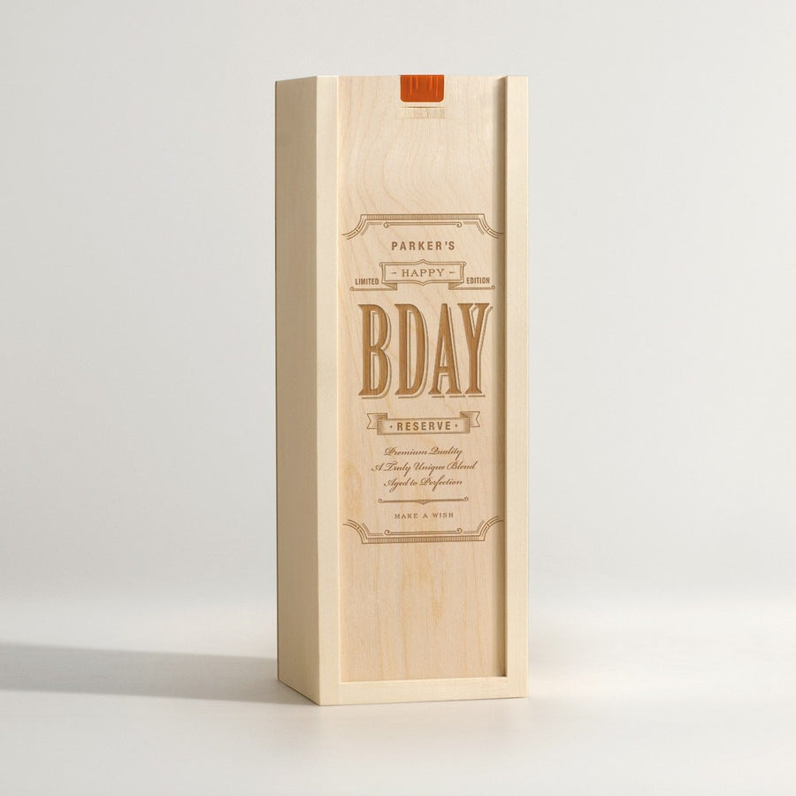 Bday Blend - Birthday Wine Box - Main Image