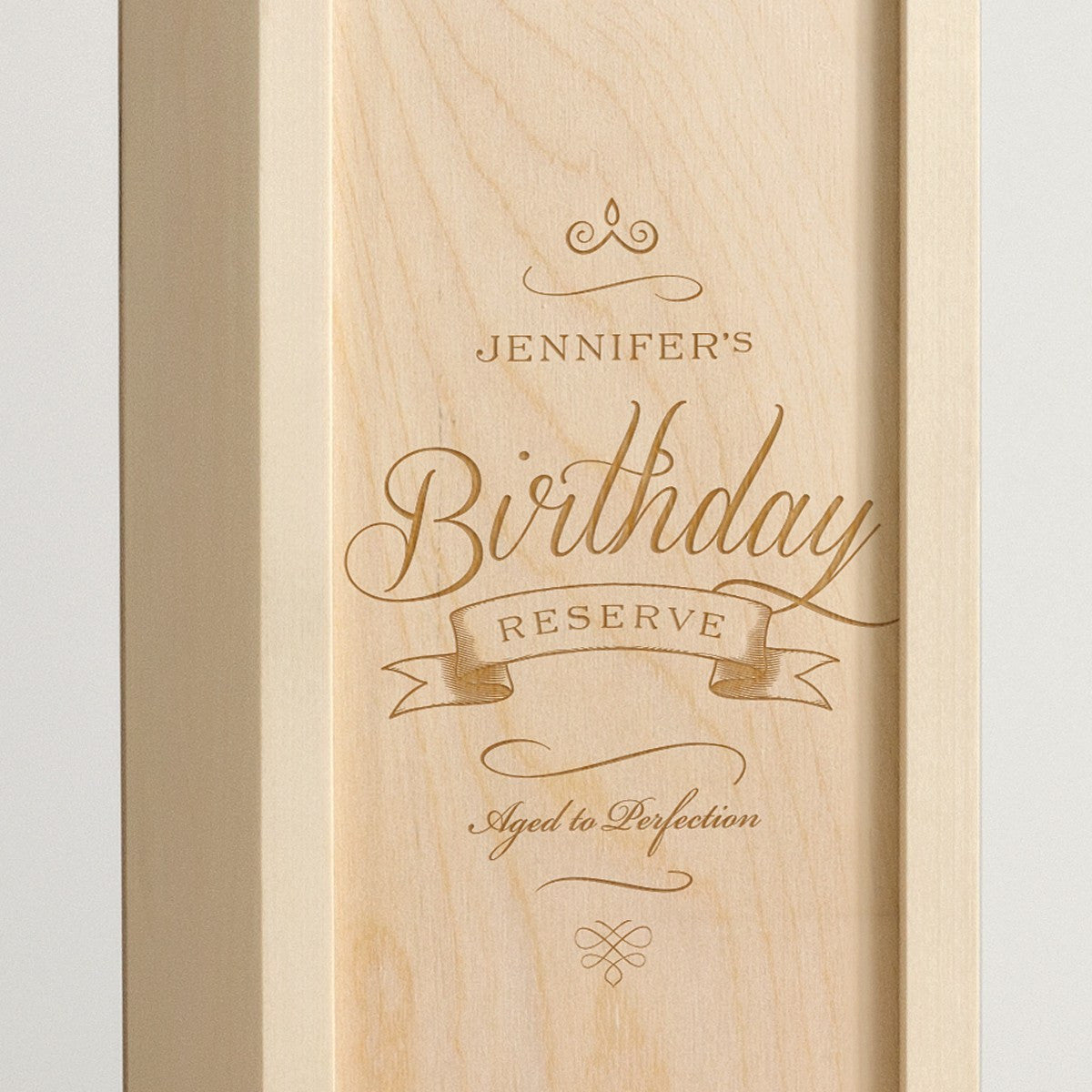 Fancy Birthday Reserve - Wine Box - Detail Image