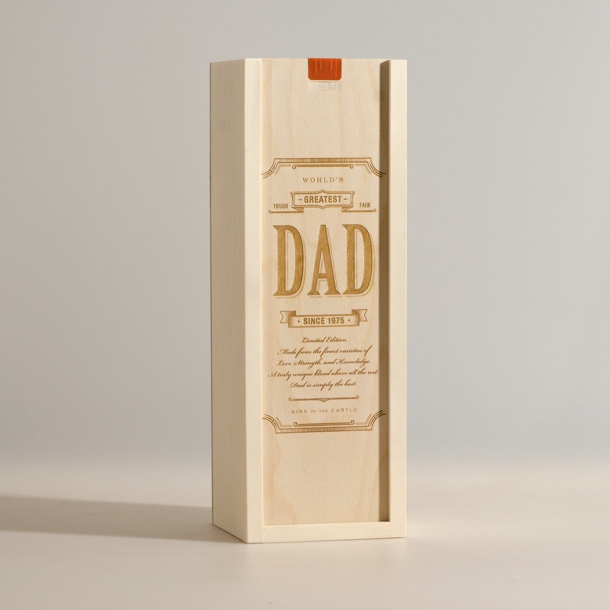 World's Greatest Dad - Wine Box - Main Image