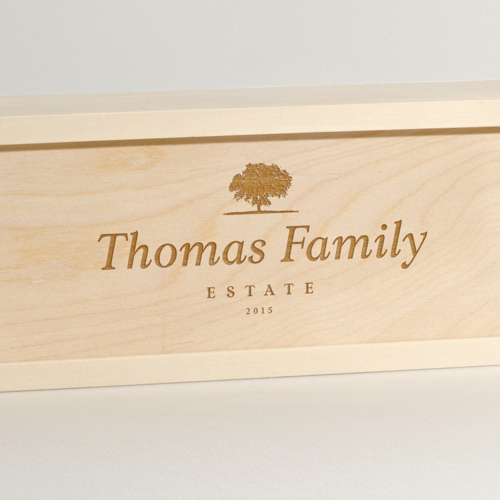 Family Estate - Wine Box - Detail Image