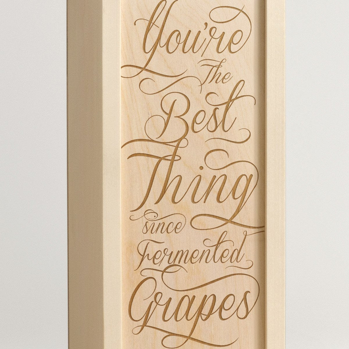 Fermented Grapes - Wine Box -Detail Image
