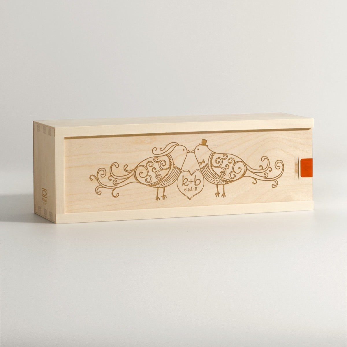 Fly Away With Me - Wedding Wine Box - Main Image