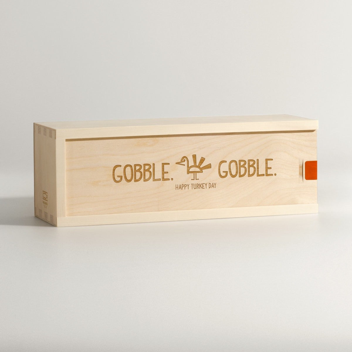Gobble Gobble - Thanksgiving Wine Box - Main Image