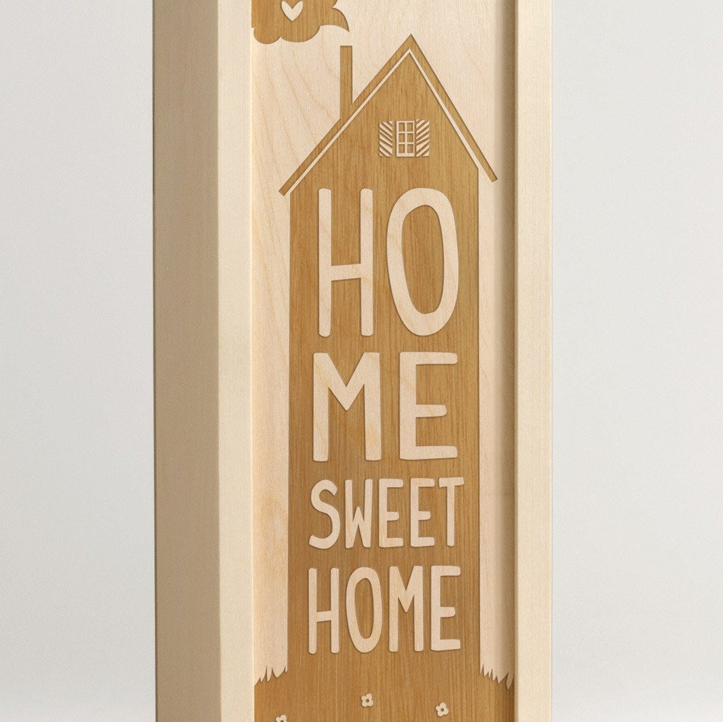 Home Sweet House - Wine Box - Detail Image