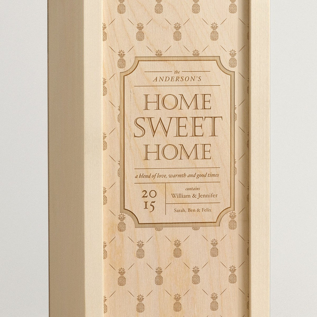 Home Sweet Home Royale - Wine Box - Detail Image