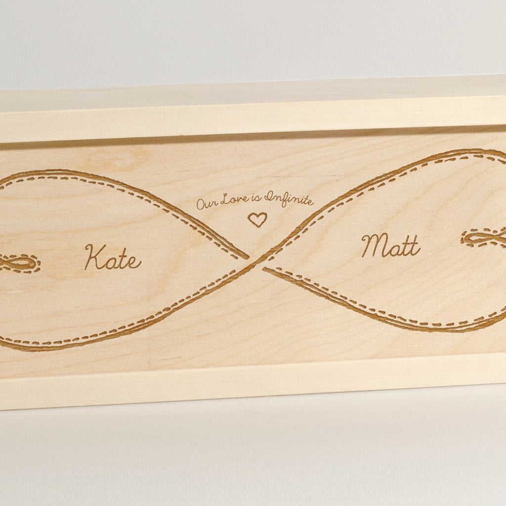 Infinite Love - Wine Box - Detail Image