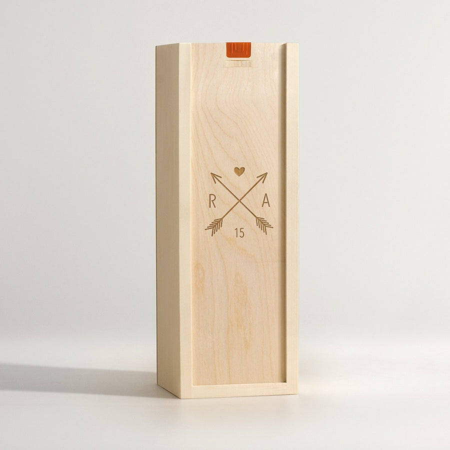 Love Coat of Arms - Wine Box - Main Image