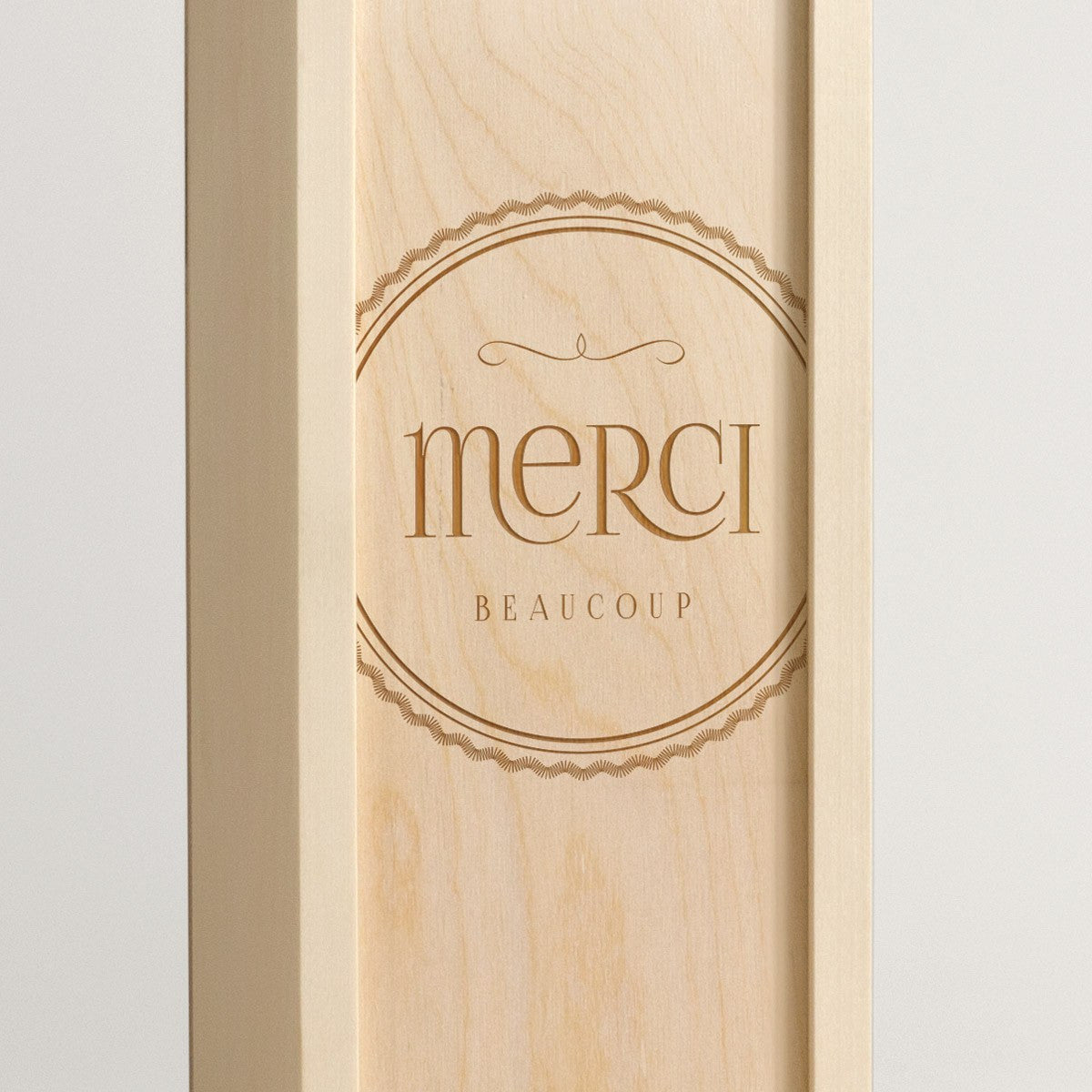 Merci Beaucoup - Wine Box - Detail Image