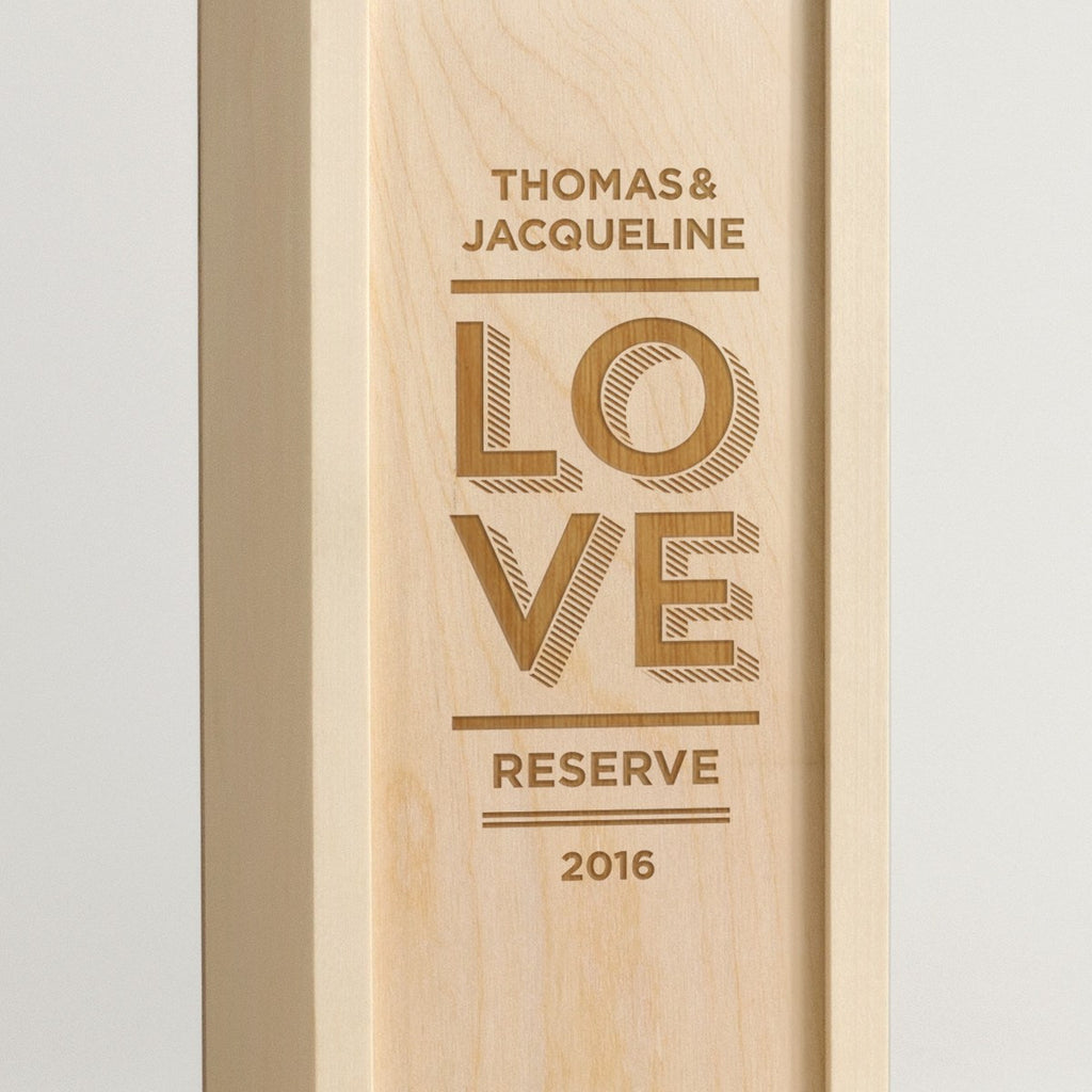 Modern Love Reserve - Wine Box - Detail Image