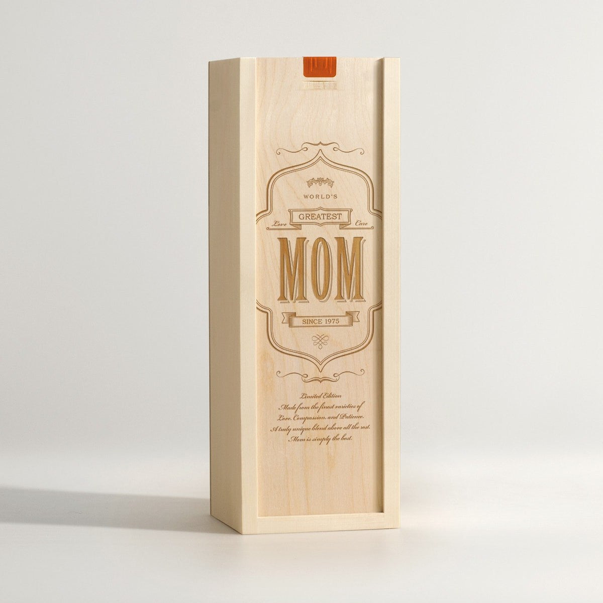 World's Greatest Mom - Wine Box - Main Image