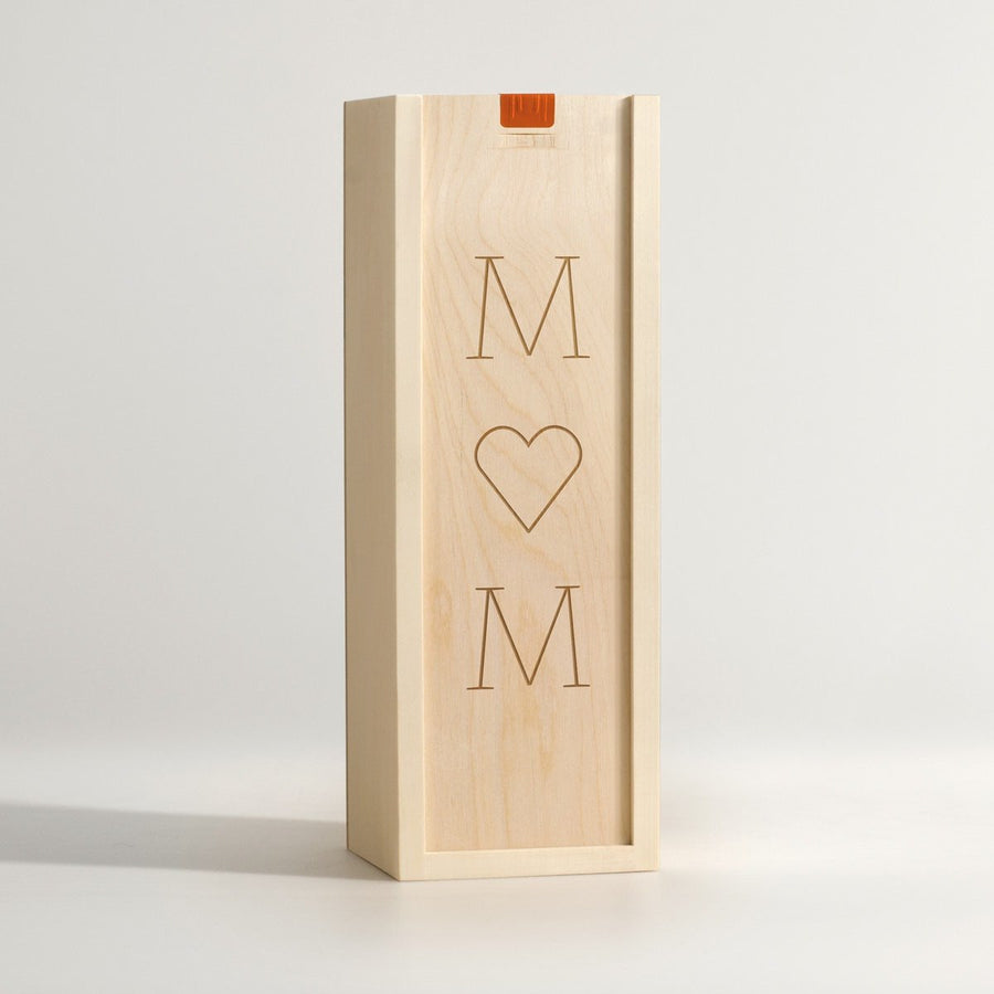 Mom, I Heart You - Wine Box - Main Image