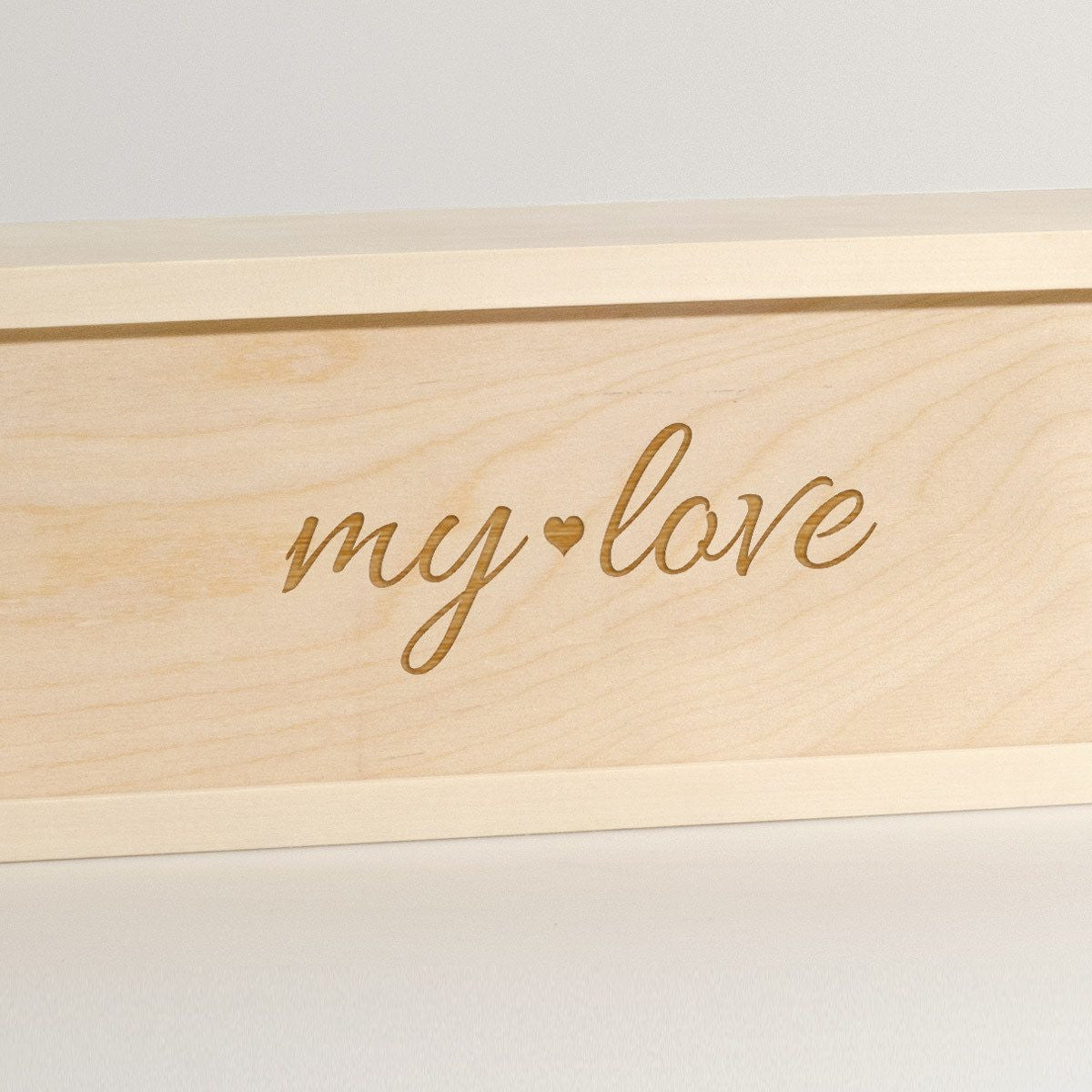 My Love - Wine Box - Detail Image