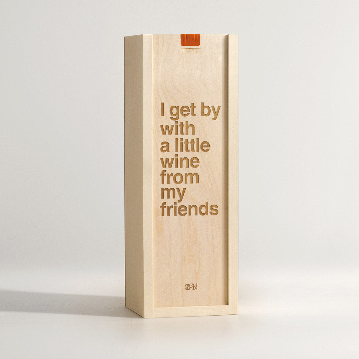 Get By With - Song Lyrics Wine Box