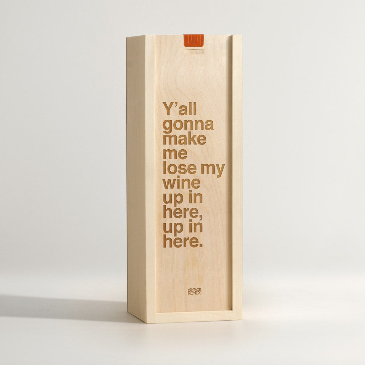 Lose My Wine - Rap Lyrics Wine Box - Main Image