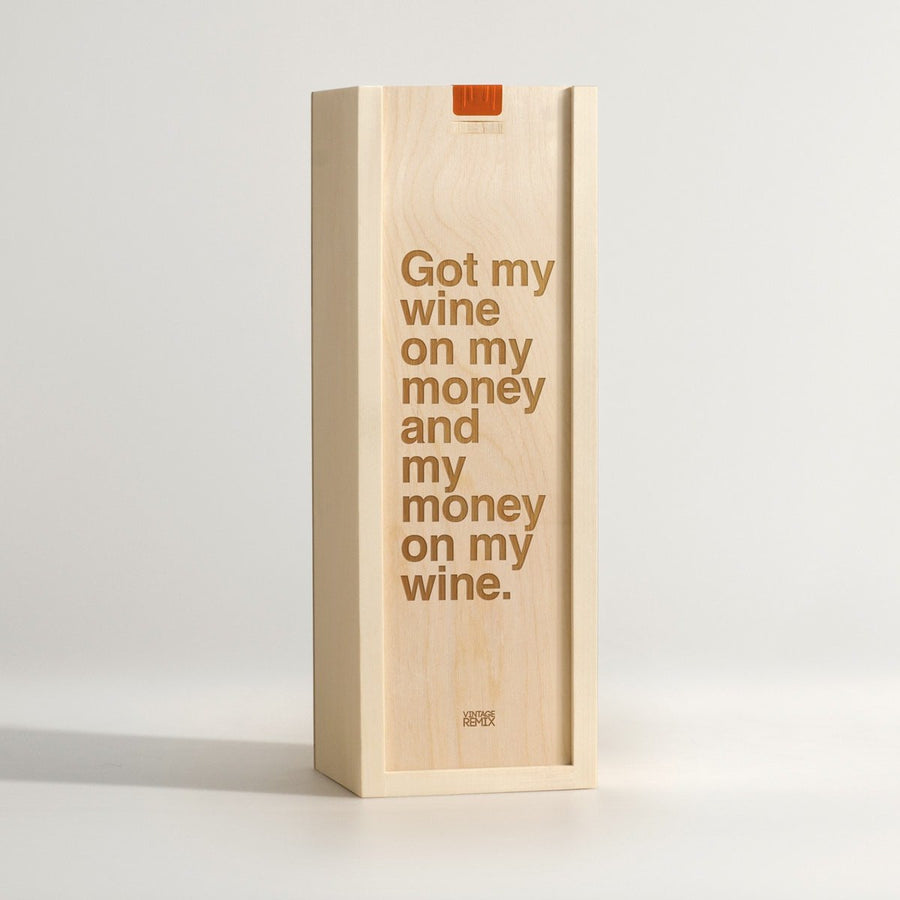 Wine On My Money - Rap Lyrics Wine Box - Main Image