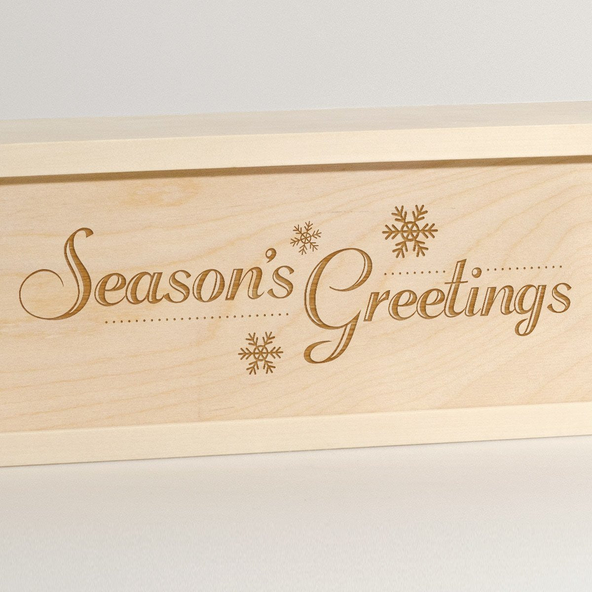Season's Greetings - Wine Box - Detail Image