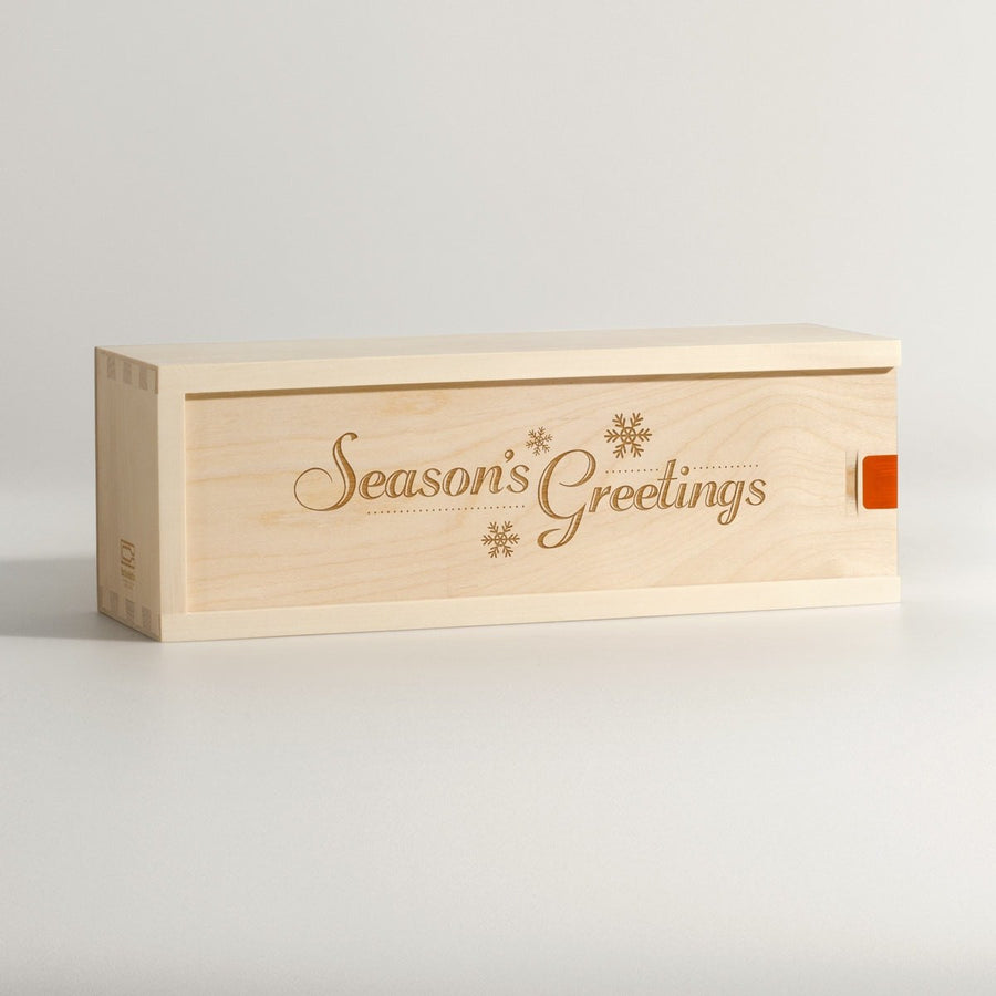 Season's Greetings - Wine Box - Main Image