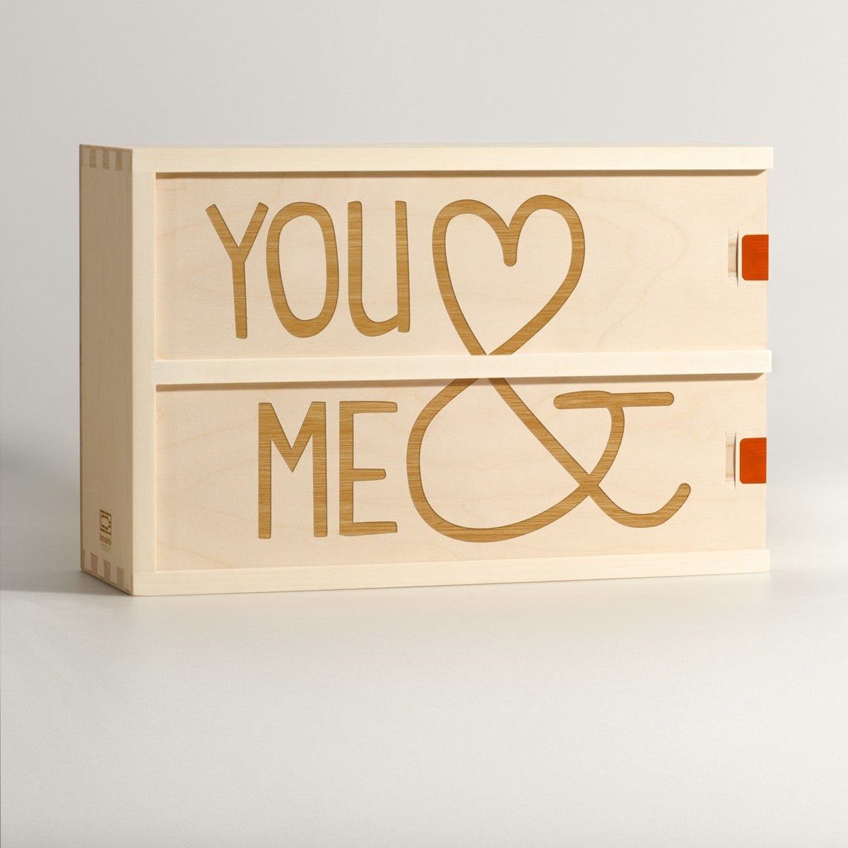 You & Me - Wine Box - Main Image