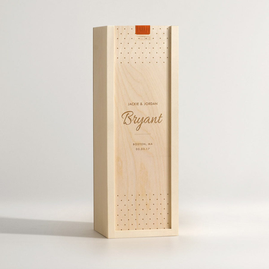 personalized wooden wine boxes artificer wood works