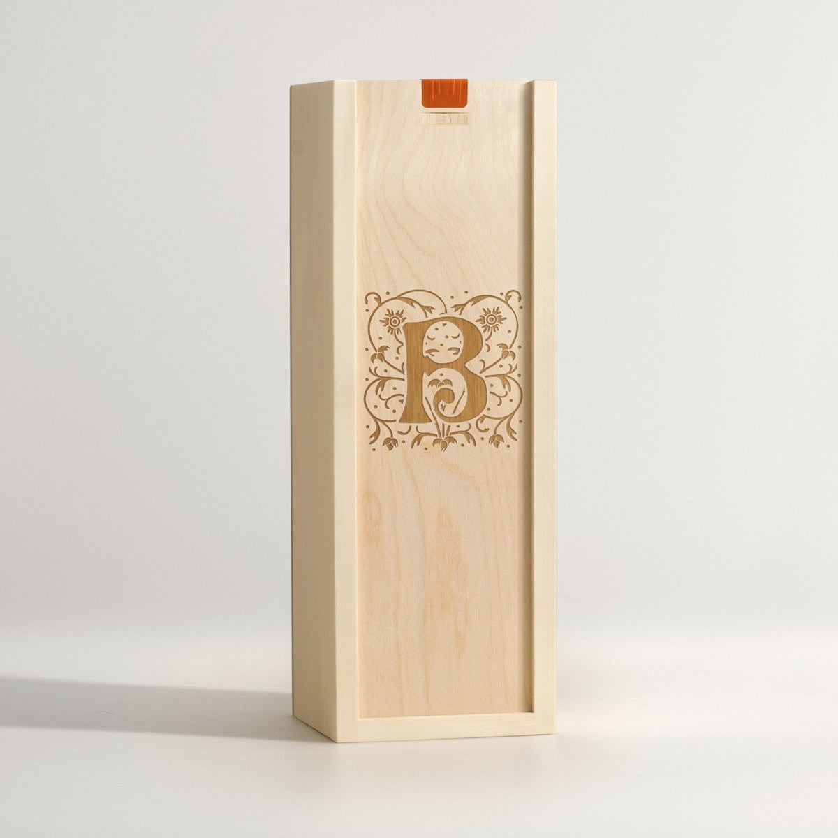 Mono Filigree - Monogram Wine Box - Main Image
