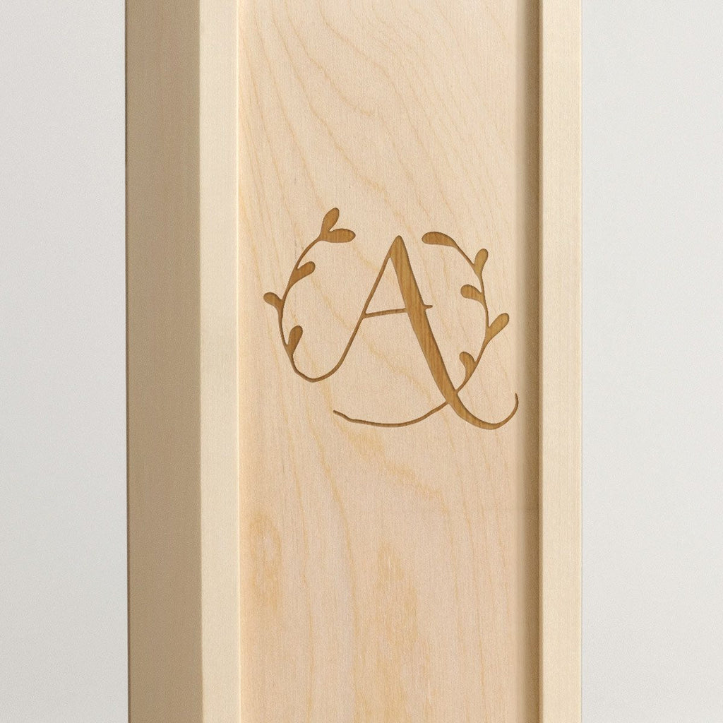 Mono Organic - Monogram Wine Box - Detail Image