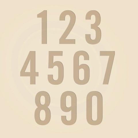 Classic Digits - Wine Box - Font Display