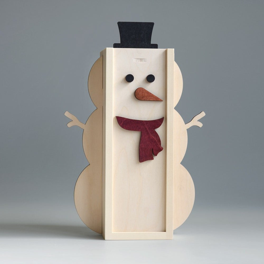 Frosty The Wineman - Holiday Wine Box - Detail Image 5