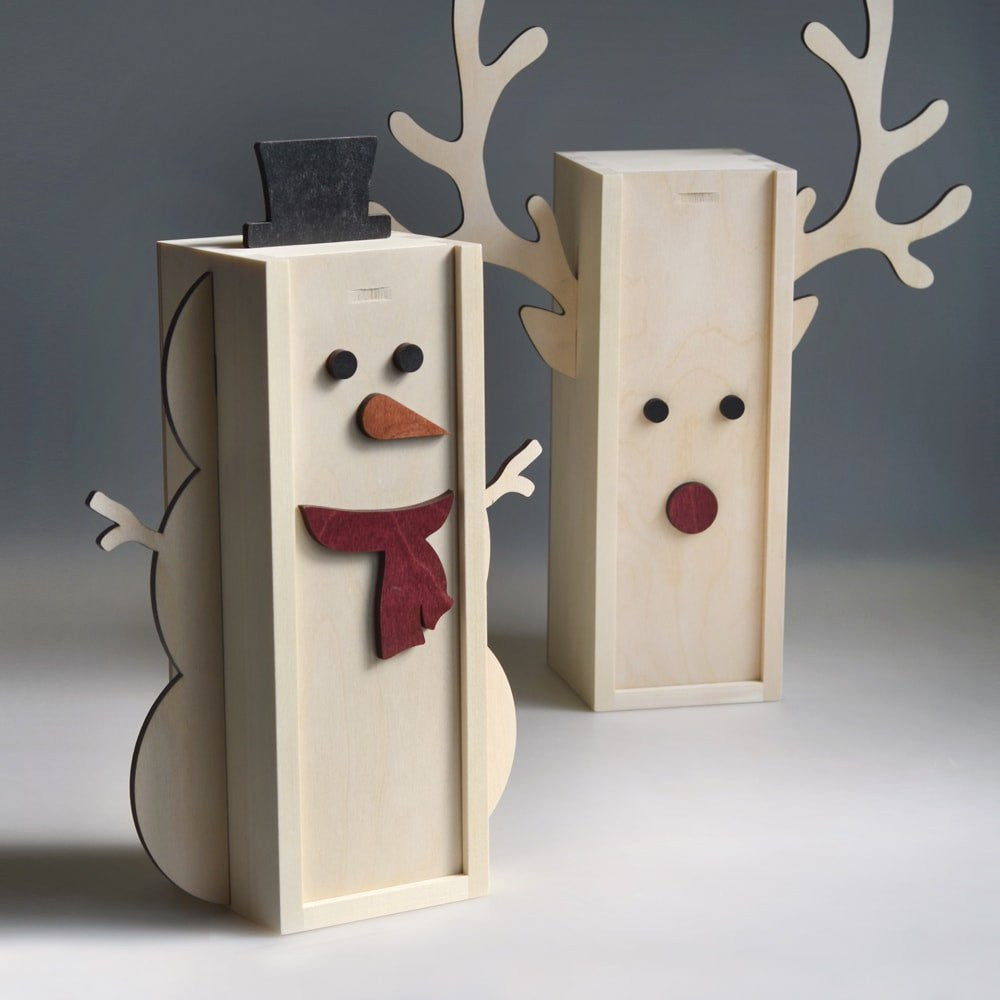 Rudolph Winedeer - Holiday Wine Box - Detail Image 5