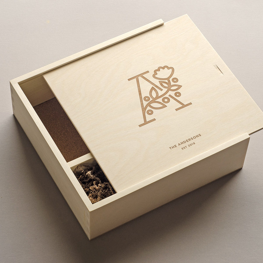 The Botanist - Keepsake Ceremony Wine Box
