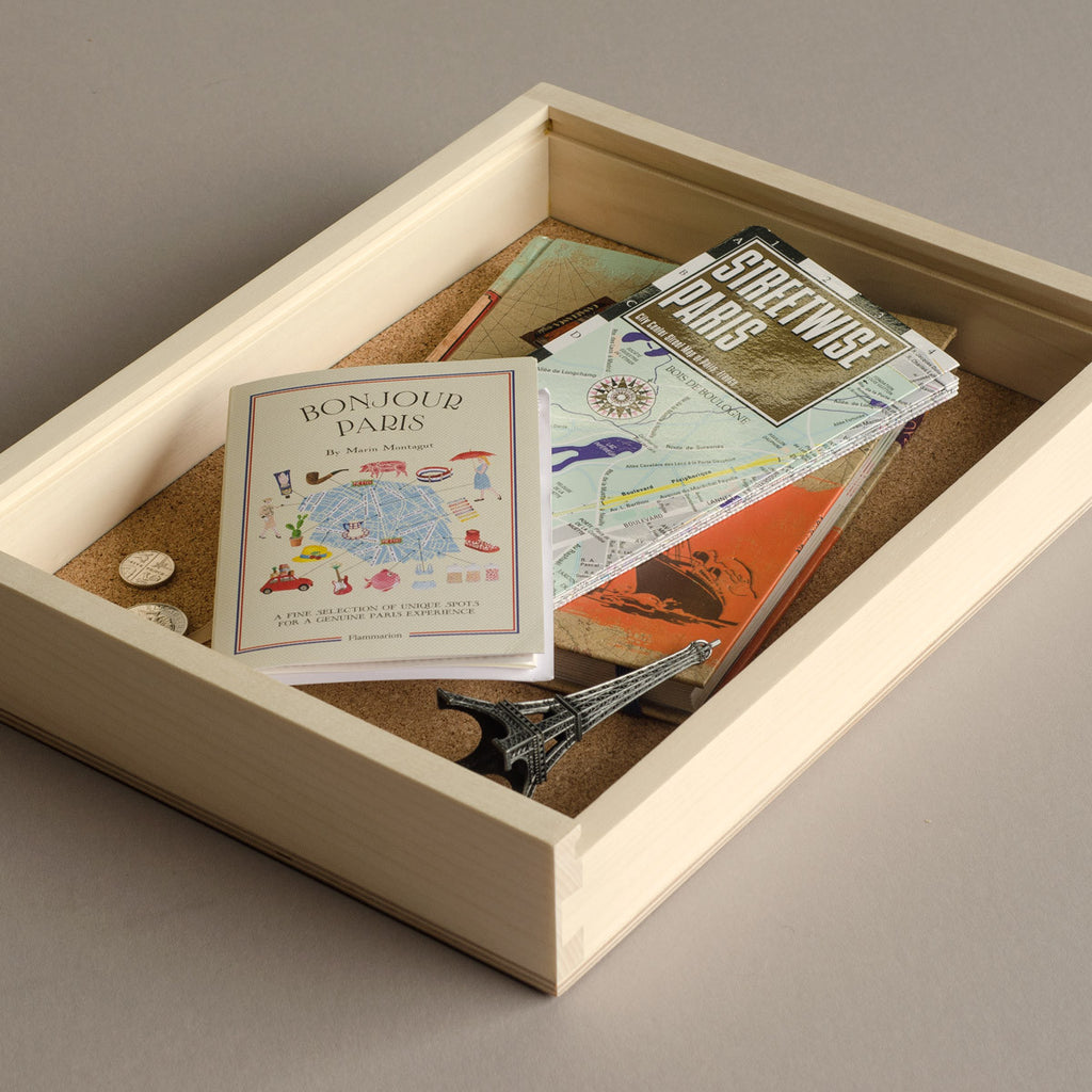 Keepsake Photo Box - Paris keepsakes