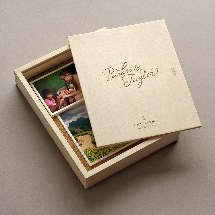 Keepsake Photo Box - The Stylist
