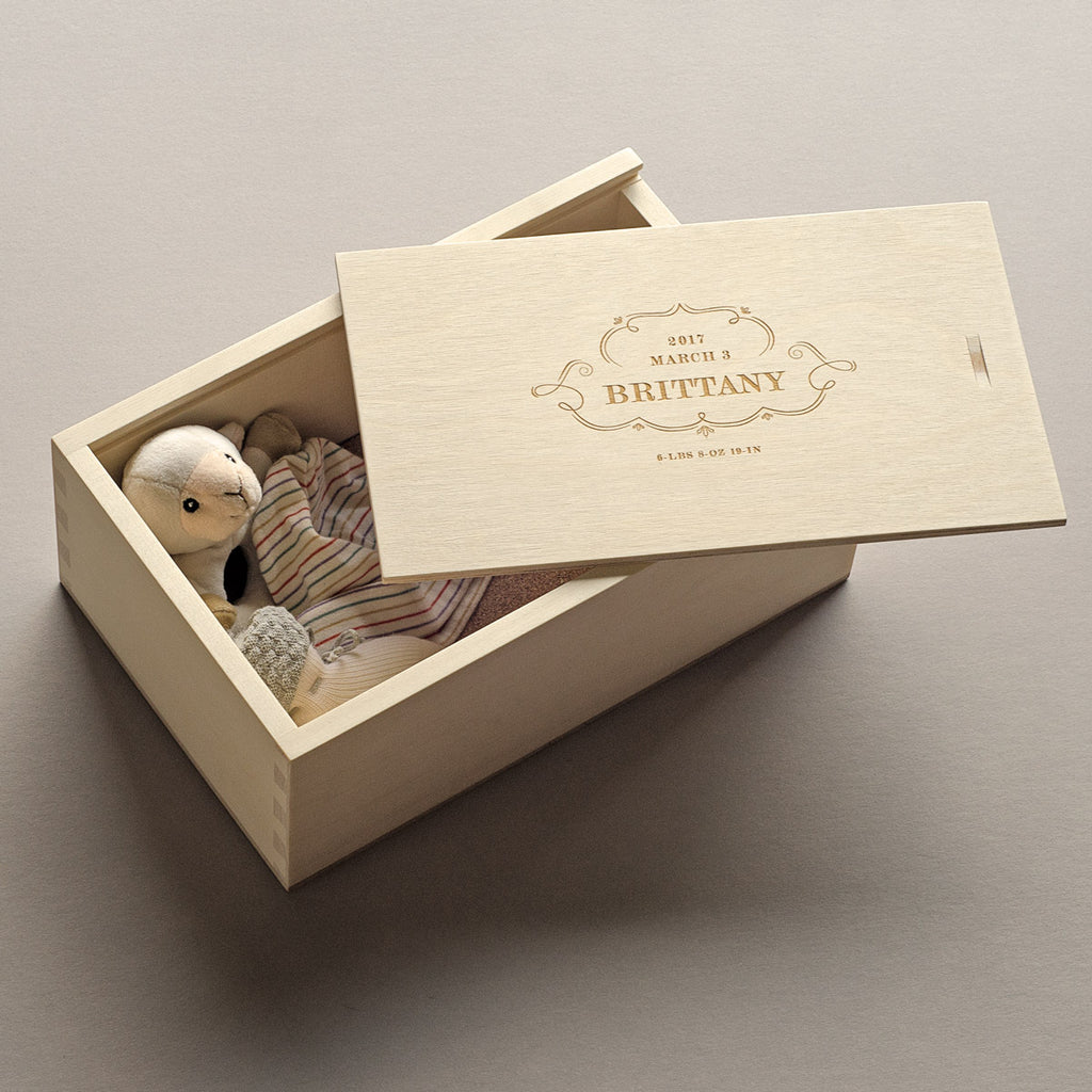 The Decorator - Keepsake Shoebox