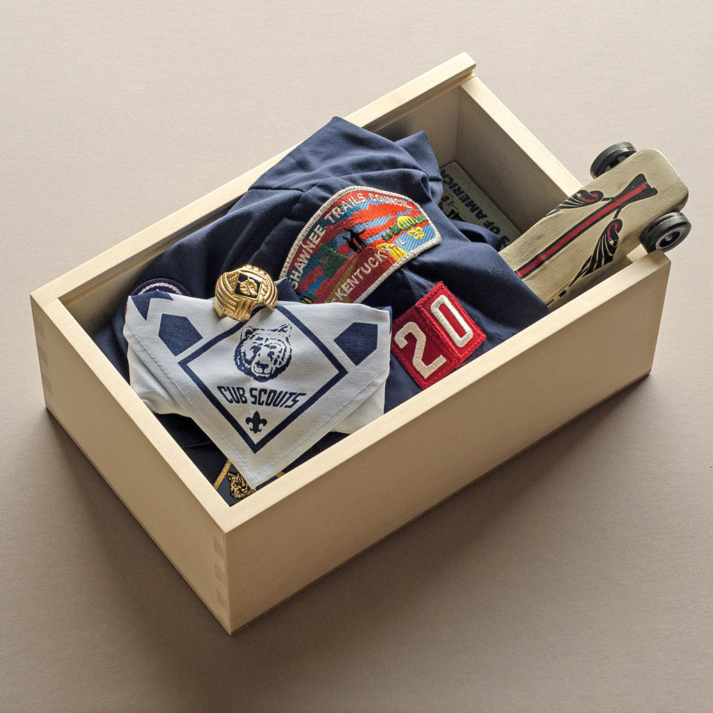Keepsake Shoebox - Artificer Wood Works