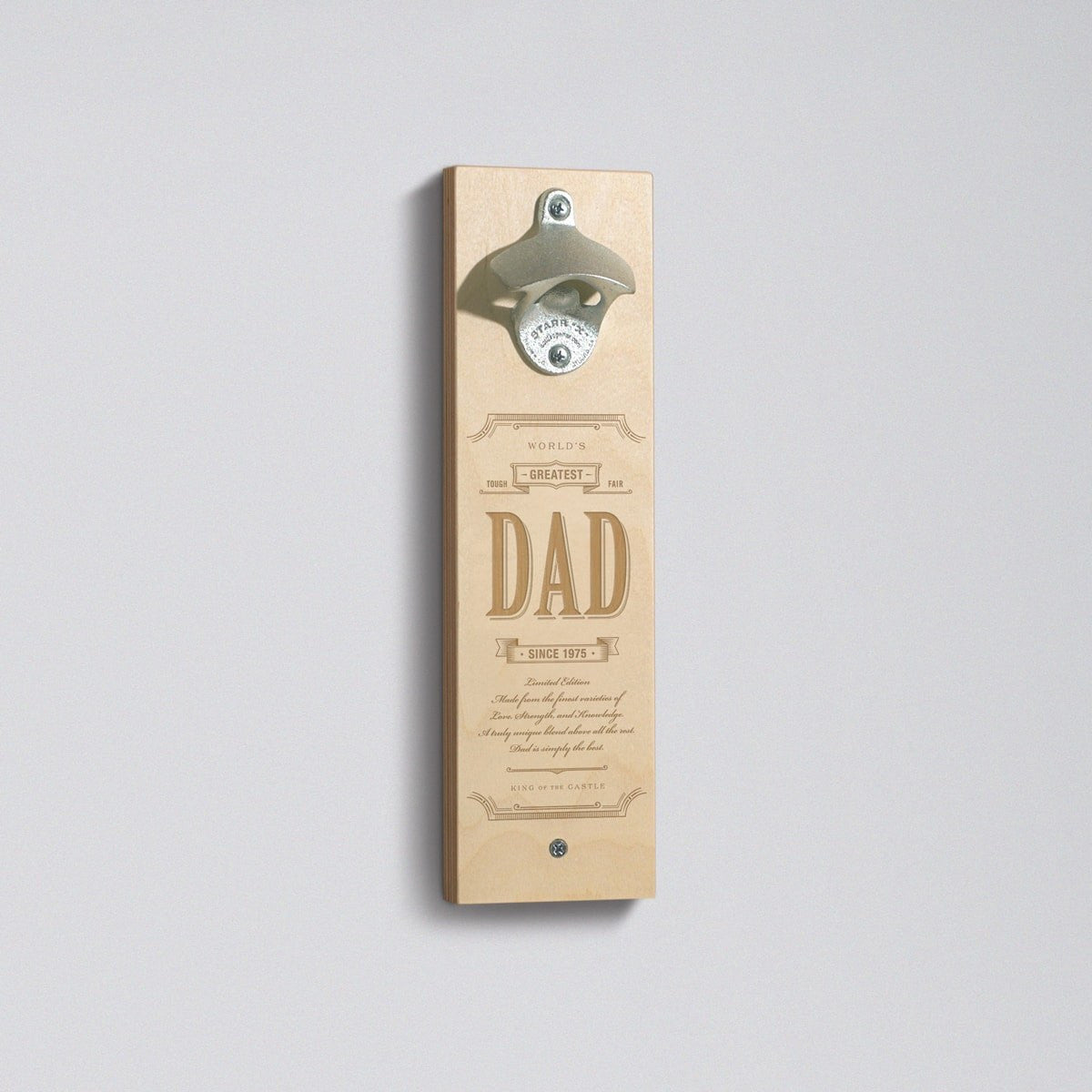 Greatest Dad - Bottle Opener - Main Image