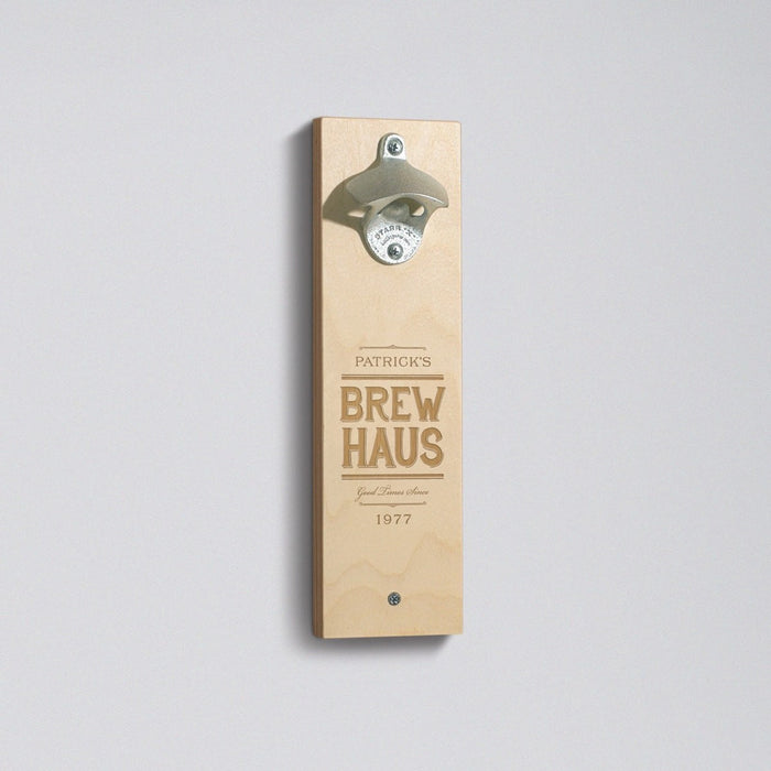 Brew Haus - Bottle Opener - Main Image