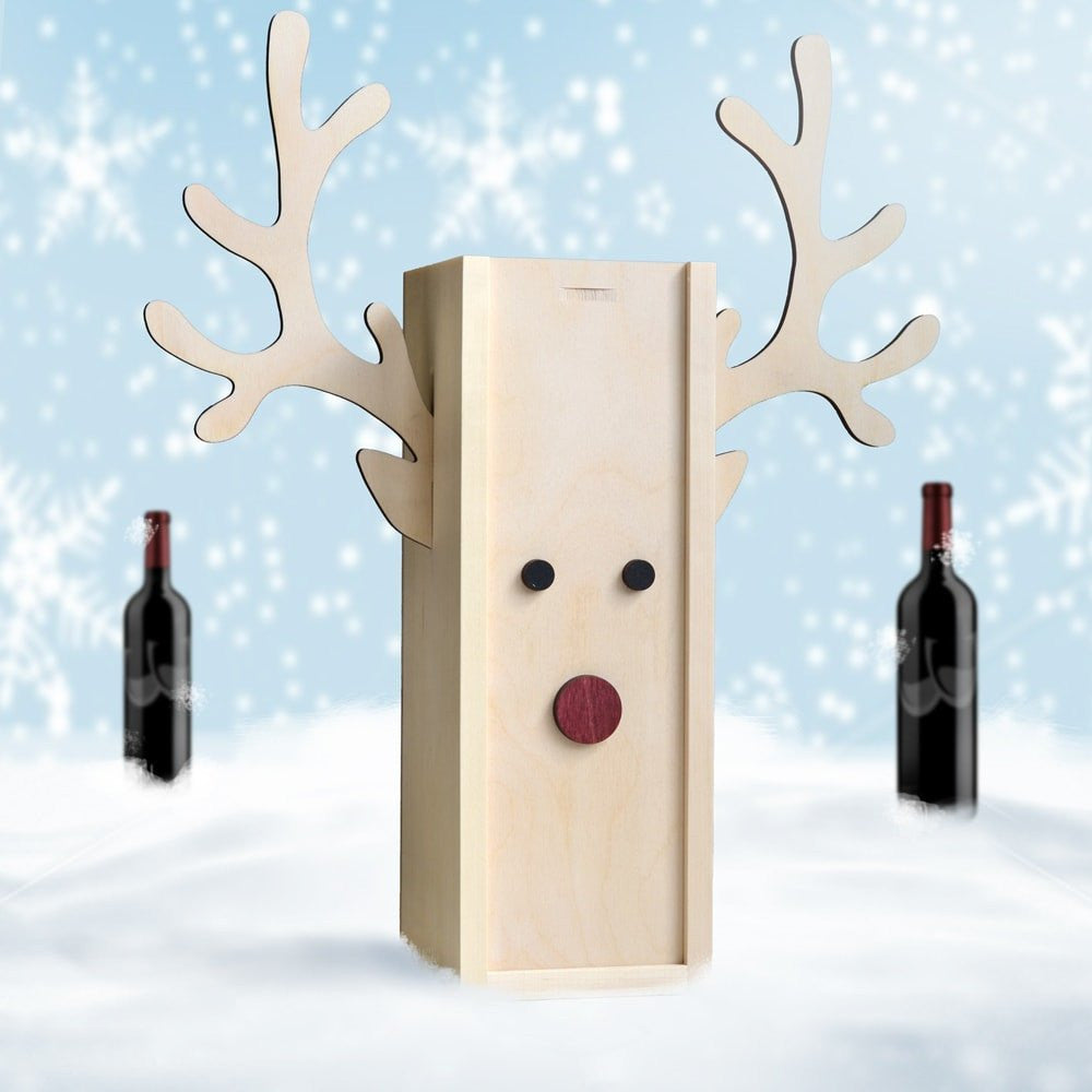 Rudolph Winedeer - Holiday Wine Box - Main Image