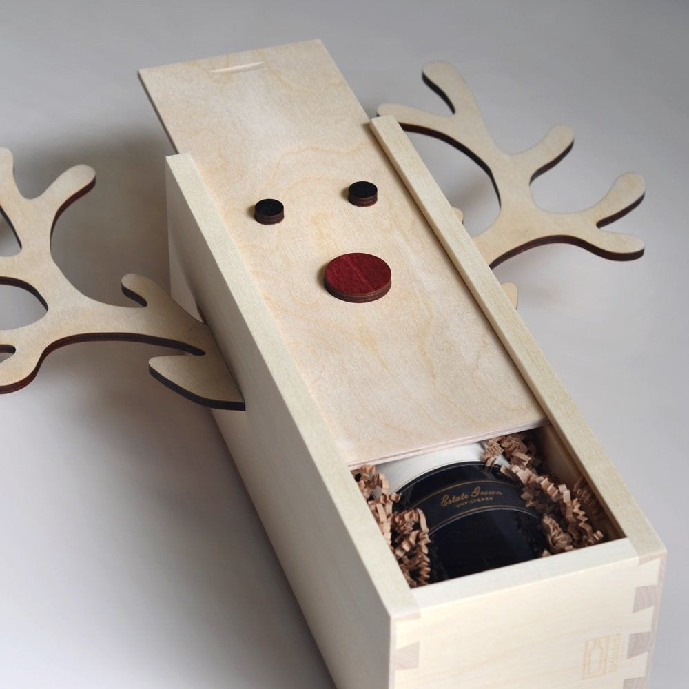 Rudolph Winedeer - Holiday Wine Box - Detail Image 1