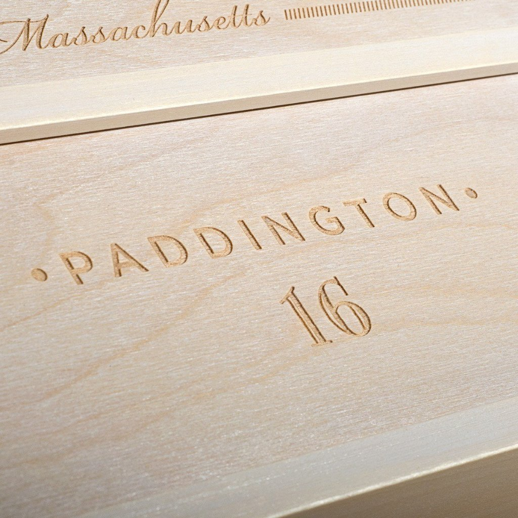 Anchors Aweigh Anniversary Wine Box - Detail 4