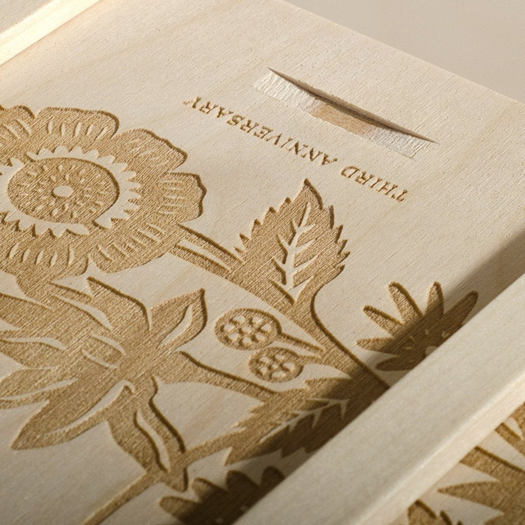 Eternal Love Anniversary Wine Box - Detail Image 2