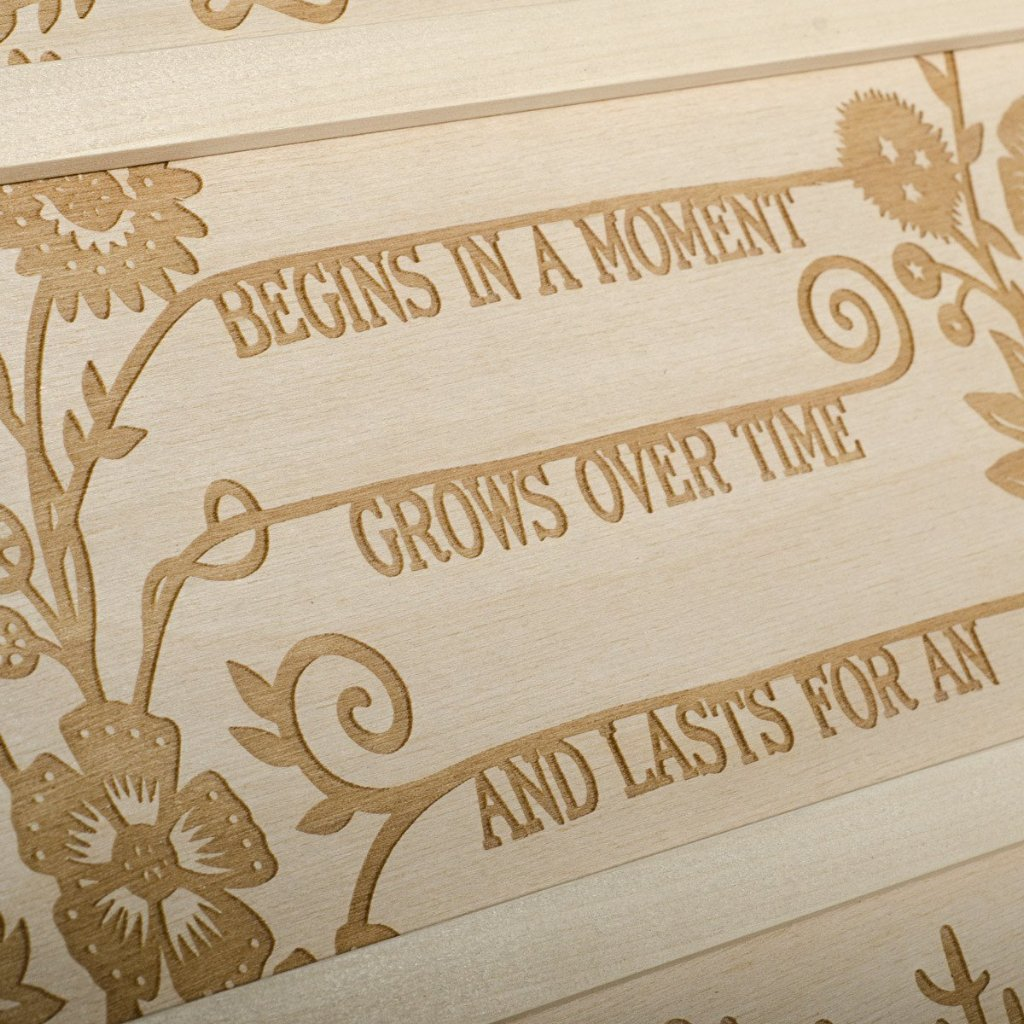 Eternal Love Anniversary Wine Box - Detail Image 4
