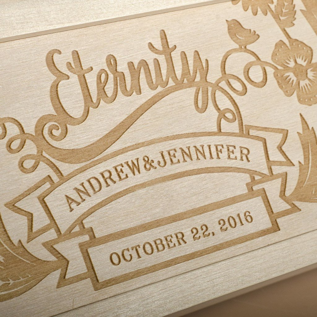 Eternal Love Anniversary Wine Box - Detail Image 1