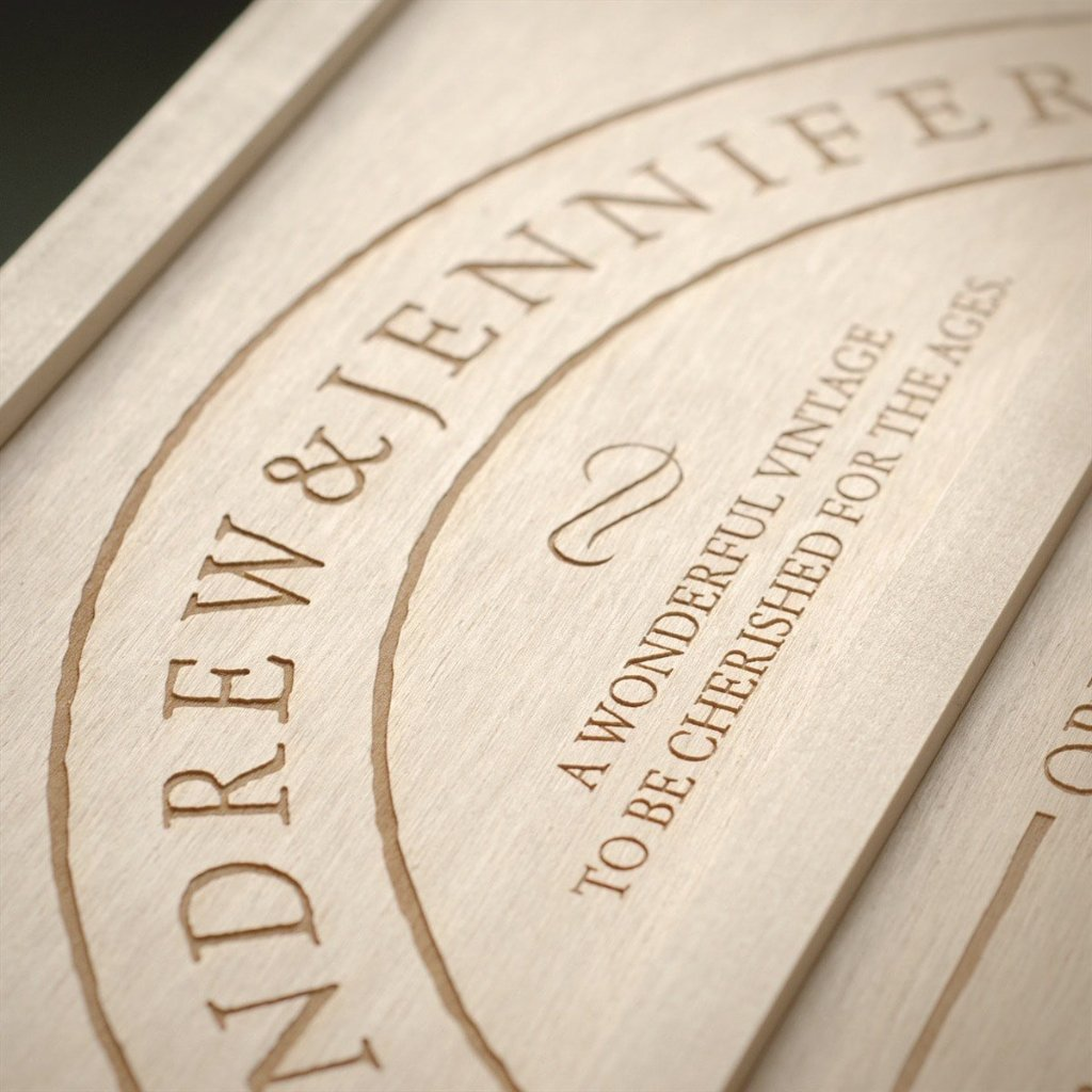 Family Vintage Anniversary Wine Box - Detail Image 1