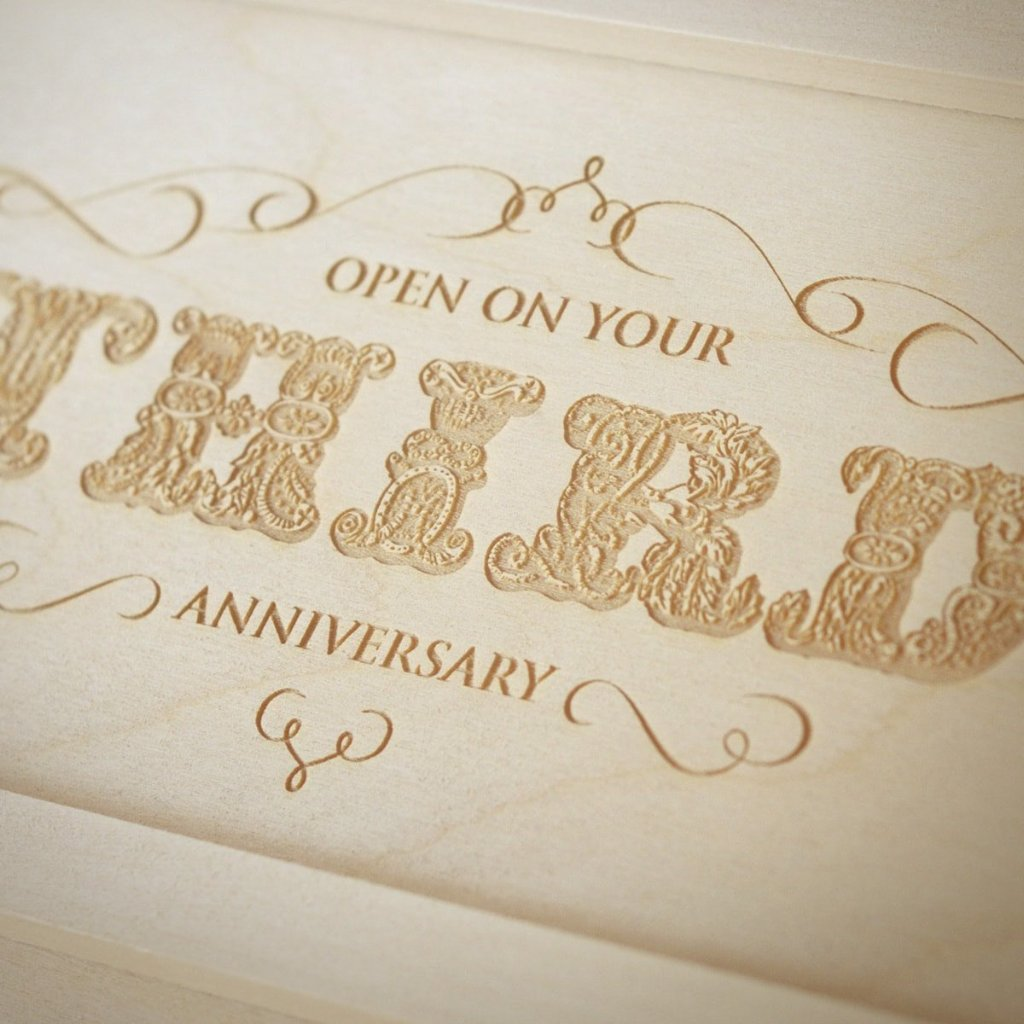 Flourish Anniversary Wine Box - Detail Image 2