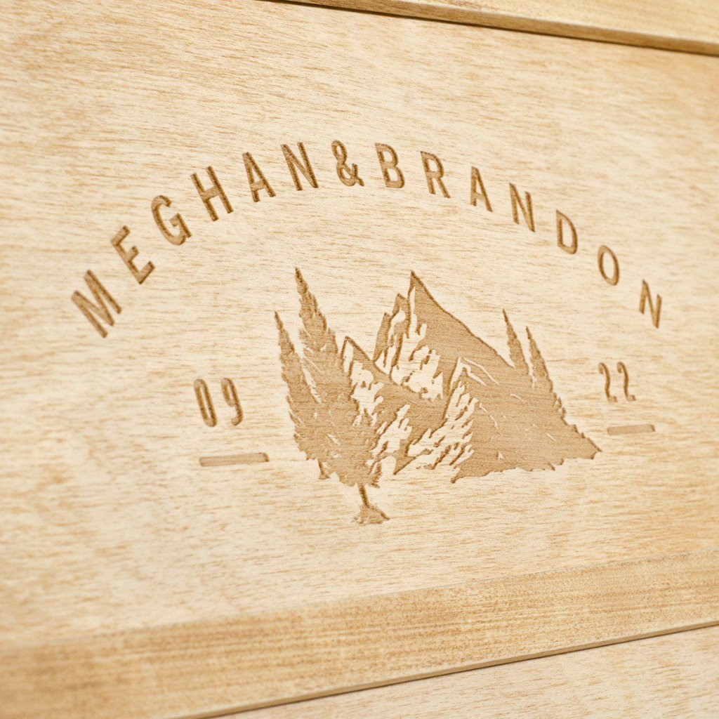 Into The Woods Anniversary Wine Box - Detail Image 3