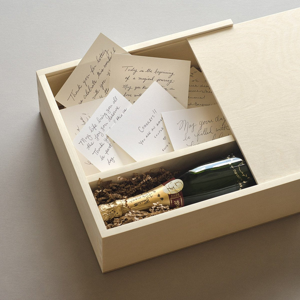 Keepsake Box - Keepsake Ceremony Wine Box - The Designer