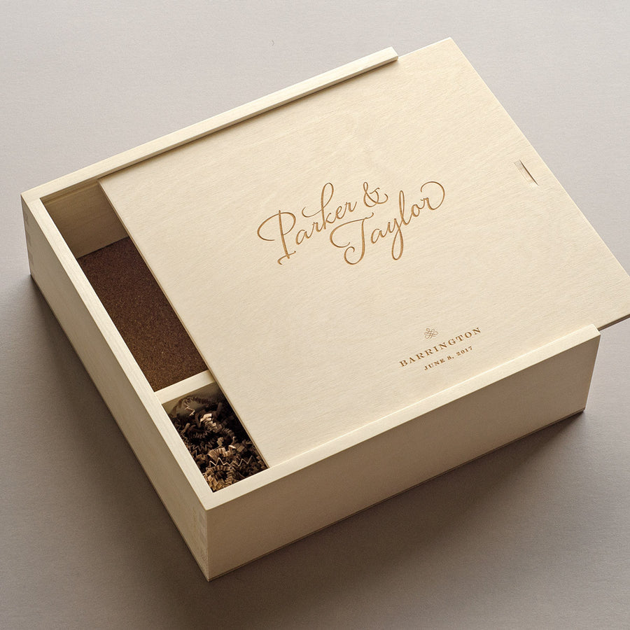 Personalized Wine Box For Wine Box Ceremony Artificer Woodworks