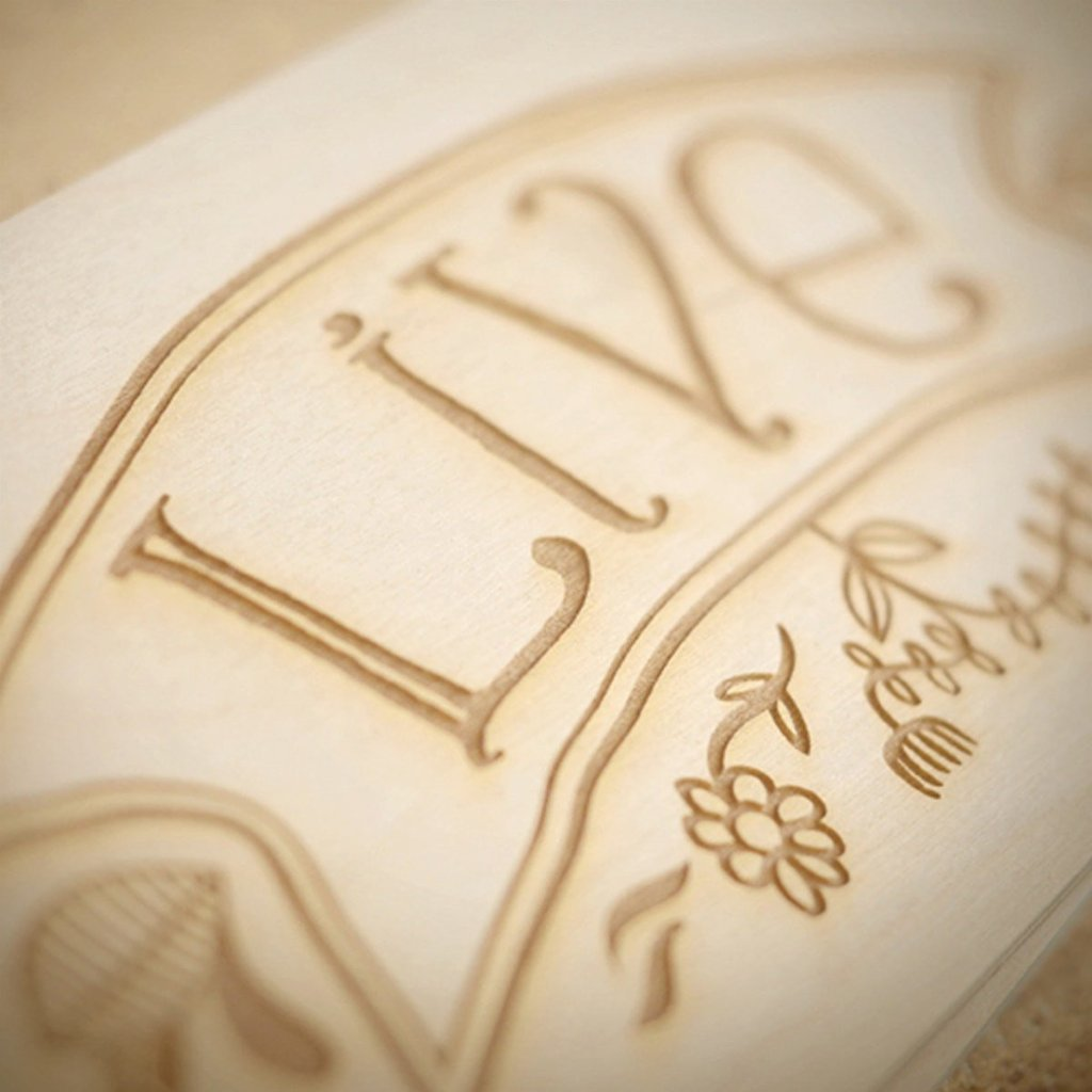 Live Laugh Love Anniversary Wine Box - Detail Image 1